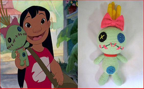 Amigurumi Lilo And Stitch : scrump cartoon animations character amigurumi crochet doll ...