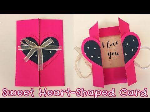 Easy Pop Up Card For Boyfriend Girlfriend Sunny Diy Youtube Birthday Cards For Girlfriend Diy Cards For Boyfriend Birthday Cards Diy