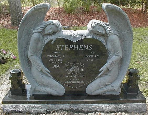 Granite Angel Heart : Monuments granite and color shapes on pinterest