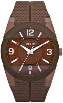 Relic Jake MN Brown Silcone Watch  in Spring Big Book Pt 1 from Fingerhut on shop.CatalogSpree.com, my personal digital mall.