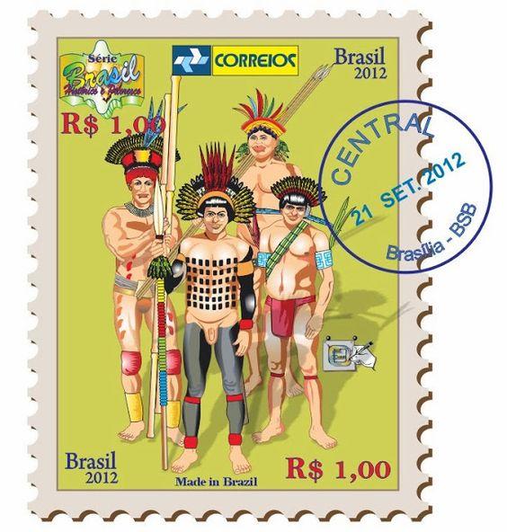 Resultado de imagem para selo dO Dia do índio