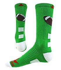 Pigskin Crew Socks