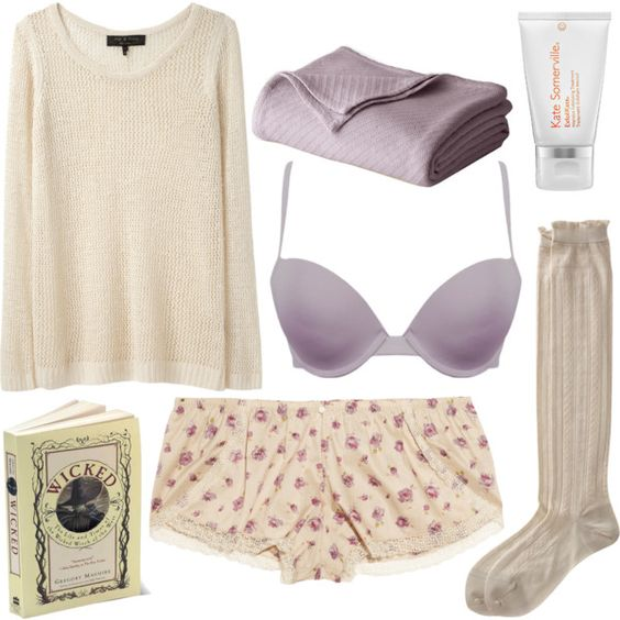 A fashion look from July 2012 featuring rag & bone sweaters, undrest. panties and Antipast socks. Browse and shop related looks.