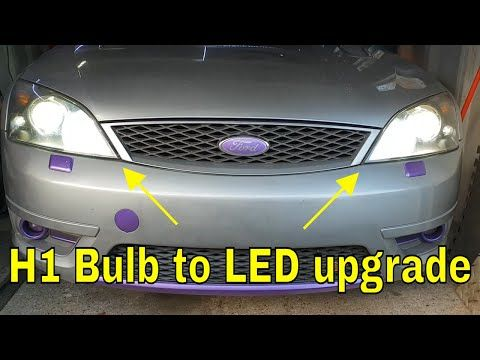 Mondeo Mk3 H1 Led Upgrade Hnasupplies Project St220 Youtube