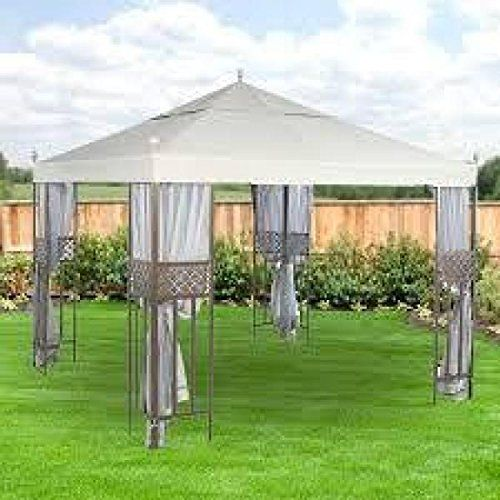 10 Ft X 10 Ft Riverhead Gazebo With Mosquito Netting Amazon Most Trusted E Retailer Gazebos Gazebo Pergola Gazebo Replacement Canopy Gazebo