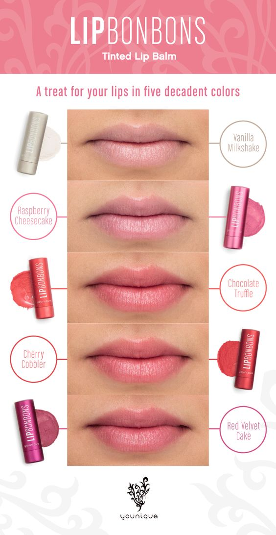 Meet Lip Bonbons, our new tinted lip balm treats. I got mine here! :) https://www.youniqueproducts.com/MichaelaCornforth2321/business