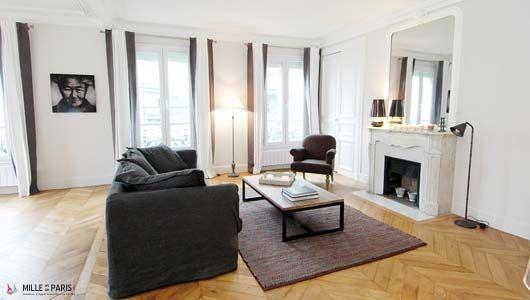 http://www.milleetunparis.com/fr/appartements/location-meublee-paris.php?reference=08007 #Location #Vacances #Paris à partir de 135€/nuit pour 7 personnes  #location #saisonnière #meublée #paris