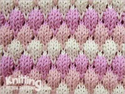 Knitting Stitches Bubble : Knitting, Search and Stitches on Pinterest