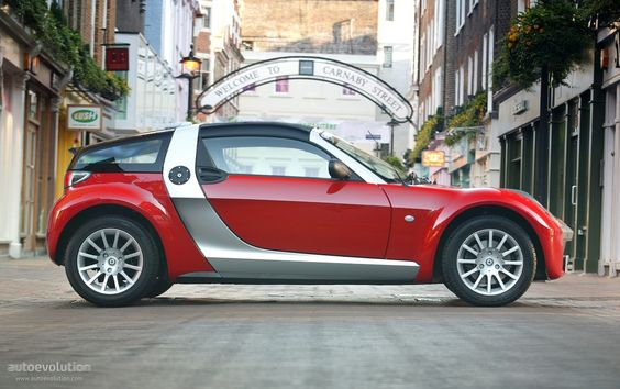 SMART Roadster Coupe ~ I want one!!!