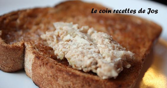 Le coin recettes de Jos: CRETON CRÉMEUX AU TOFU