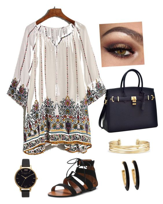 """Untitled #1"" by niania-i on Polyvore featuring Stella & Dot, Olivia Burton and Chico's"