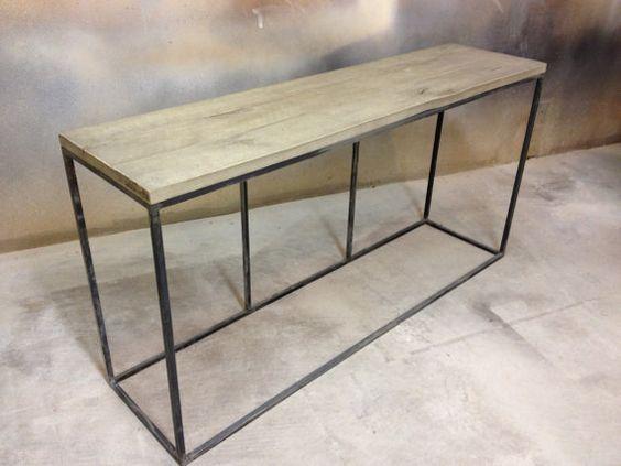 "sofa table - 56"" $349 Etsy (would need 2)"