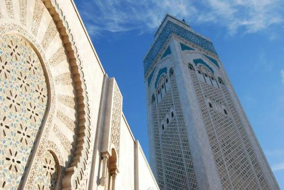 Amazing shot: #FriFotos Hassan II Mosque, Casablanca by @NomadKeith