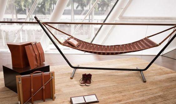 leder reisekollektion luxus designer möbel von louis ...