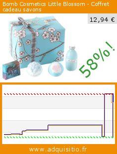 Bomb Cosmetics Little Blossom - Coffret cadeau savons (Beauté et hygiène). Réduction de 58%! Prix actuel 12,94 €, l'ancien prix était de 31,06 €. http://www.adquisitio.fr/bomb-cosmetics/little-blossom-coffret