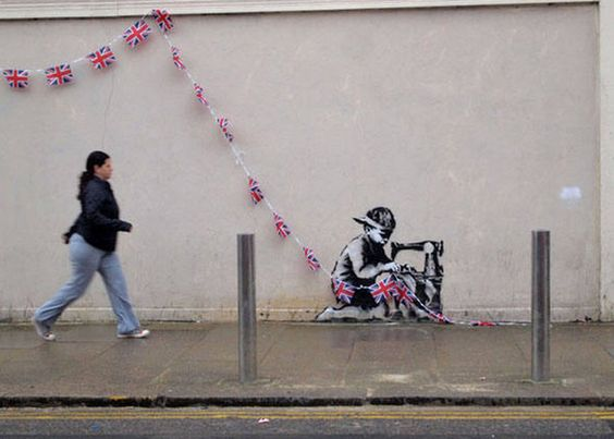 Bansky - London - 2012