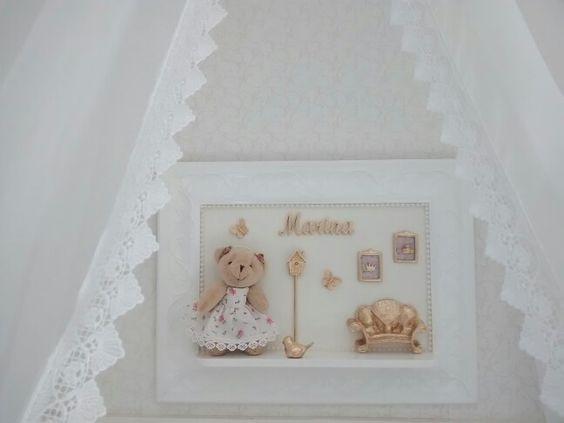 Porta maternidade ursinha