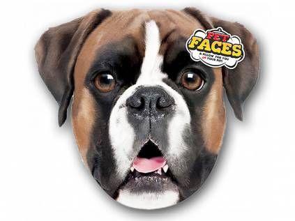 Kissen & KissenbezügePet Faces Kissen Hund: Boxer -50 cm-