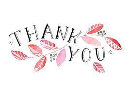 Image result for thank you word art free: