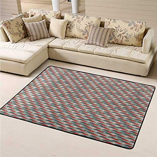 Area Rug On Carpet Model Concept