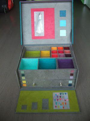 Mille tiroirs et compartiments pour ranger et organiser ses bijoux ! Au fil de…: