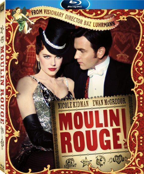 Movie poster - Moulin Rouge!