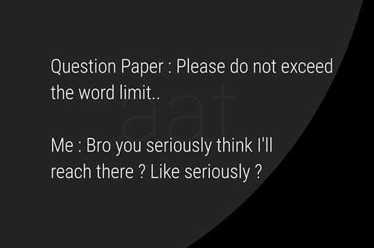 Pin By Divyam Rajput On Memes In 2020 Question Paper This Or That Questions Words