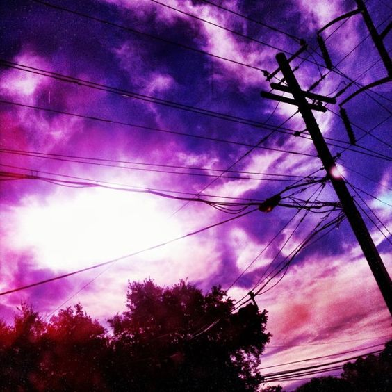 Weekend hashtag project: #electricalsky