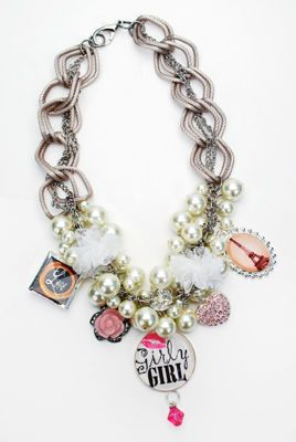 Girly girl, Pearl necklaces and Pearls on Pinterest