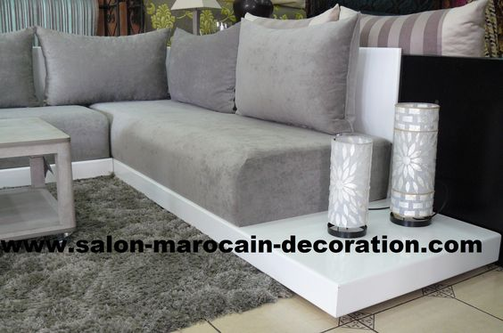 sedari pour salon marocain sur mesure maroc int rieur pinterest salons. Black Bedroom Furniture Sets. Home Design Ideas