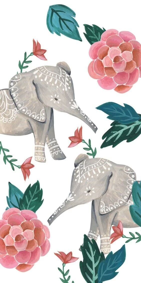 Pin By Reagan Hilbelink On Comics Elephant Print Art Elephant Art Elephant Wallpaper Iphone rose gold elephant wallpaper hd