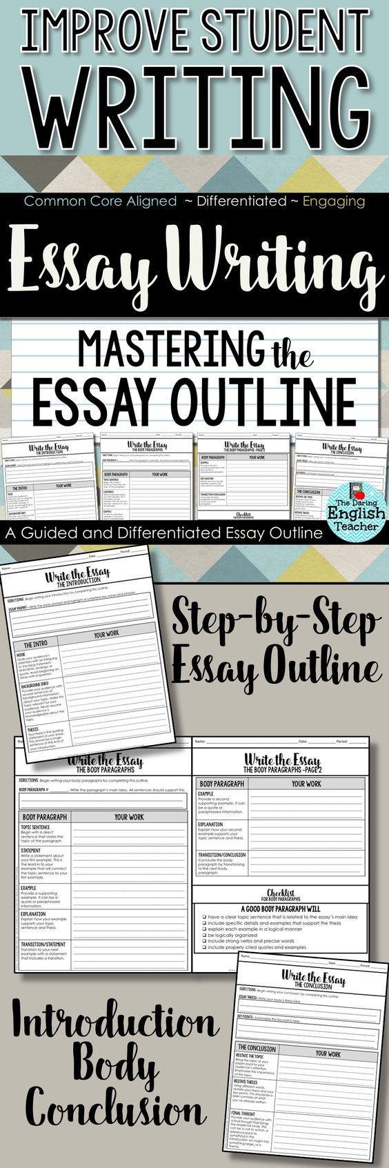 Essay writing instructions