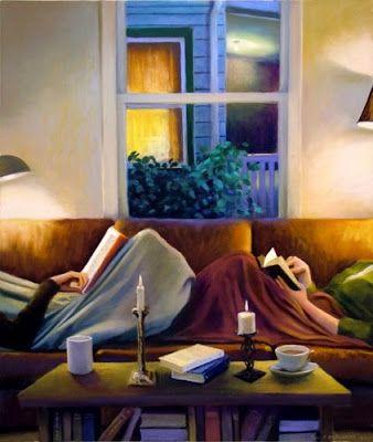 Friday nights, 2006  Deborah DeWit born March 28, 1956 in Portland (Oregon), USA  http://www.deborahdewit.com/paintings/
