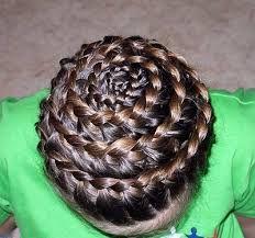 Resultado de imagen para peinados para niña paso a paso