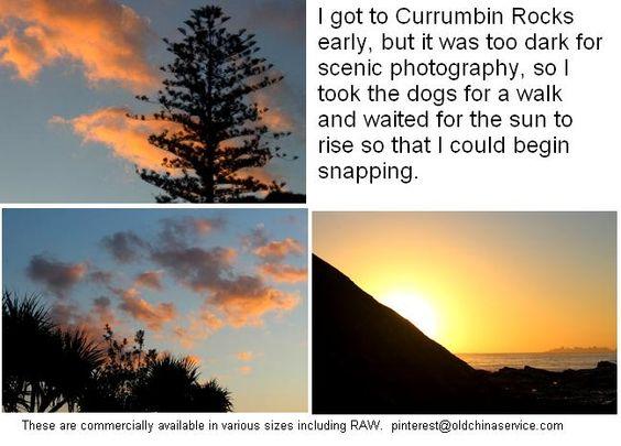 Currumbin Rocks just after 4.00 am.