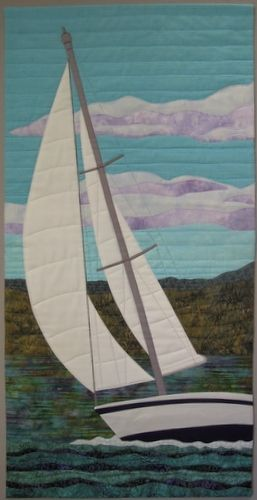 Catching the Wind By Terry Aske. Exhibitions of the Fibre Art Network > On the Wind