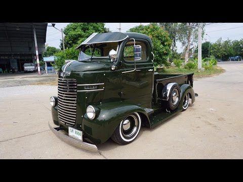 Video 1940 Dodge Coe Custom Pickup Truck Conversion In Thailand