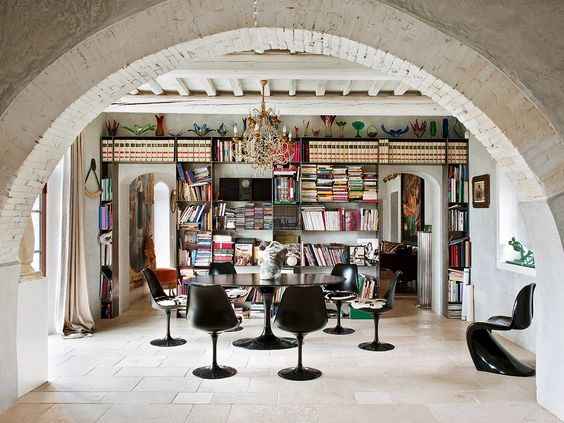 Veja mais em Casa de Valentina http://www.casadevalentina.com.br #details #interior #design #decoracao #detalhes #dining #biblioteca #book #modern #casadevalentina