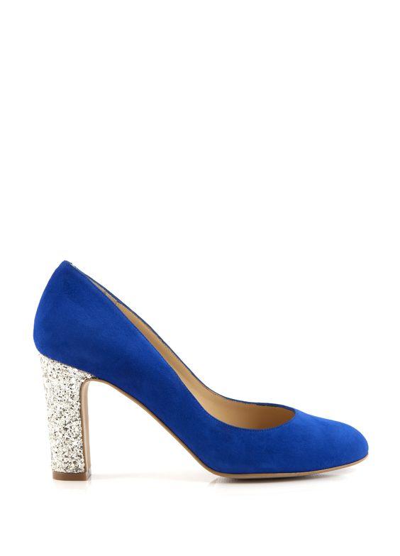 Escarpins Bleu Roi