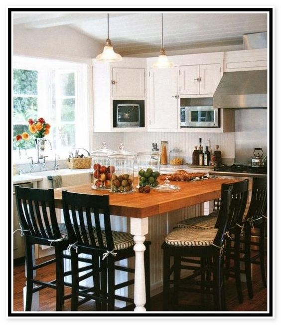 Kitchen Island Table Island Table And Bar On Pinterest