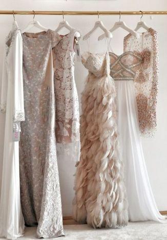 2015 Vintage Wedding Colour Trends - Neutral, Sparkle and Sequins Inspiration