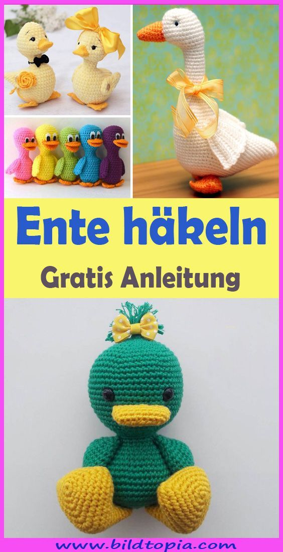Amigurumi Anleitung: 54 Kostenlose Vorlagen für Häkelfiguren ... | 1100x564