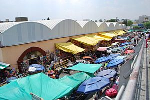 Mercado de Sonora market in mexico city