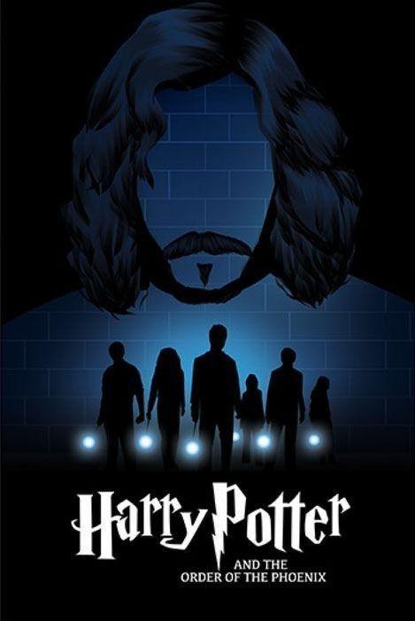 Harry Potter I Zakon Feniksa Harry Potter Posteres De Filmes Poster Harry Potter