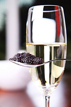 Champagne and Caviar