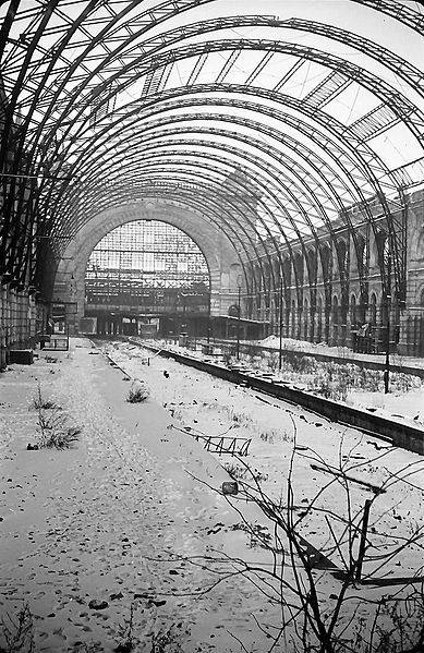 Berlin 1956 Lehrter Bahnhof