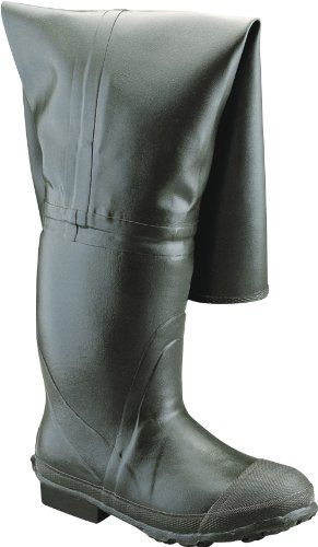 """Ranger Bullhead 32"""" Heavy-Duty Men's Full Rubber Insulated Hip Boots, Forest Green (A2300) >>> Click image for more details."""