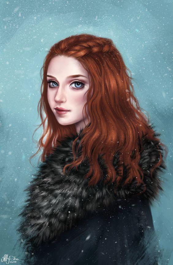 Artstation Sansa Stark Sparrow Senpai 222 Sansa Stark Fanart Game Of Thrones