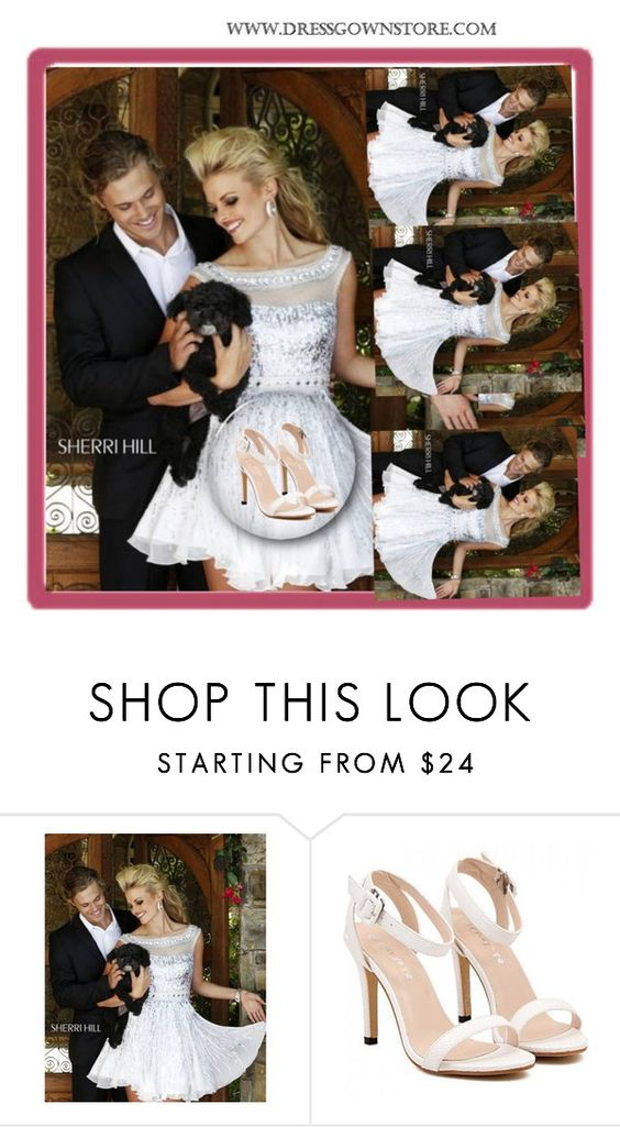 """Dress Gown Store 15"" by melikasalkic ❤ liked on Polyvore featuring mode, Sherri Hill et dressgownstore"