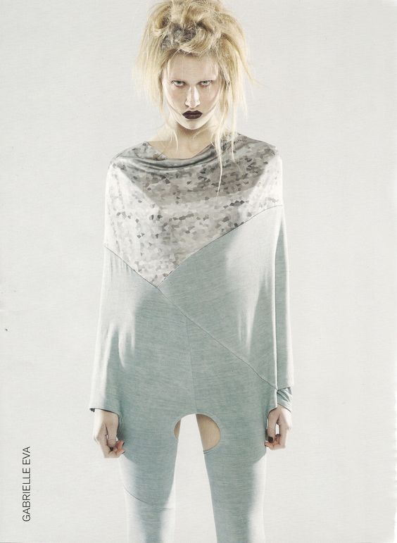 2012// Finally got round to scanning in my FMP catalogue picture :) This is my jumpsuit